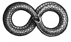 Ouroboros (Source: http://mythologian.net/ouroboros-symbol-of-infinity/)